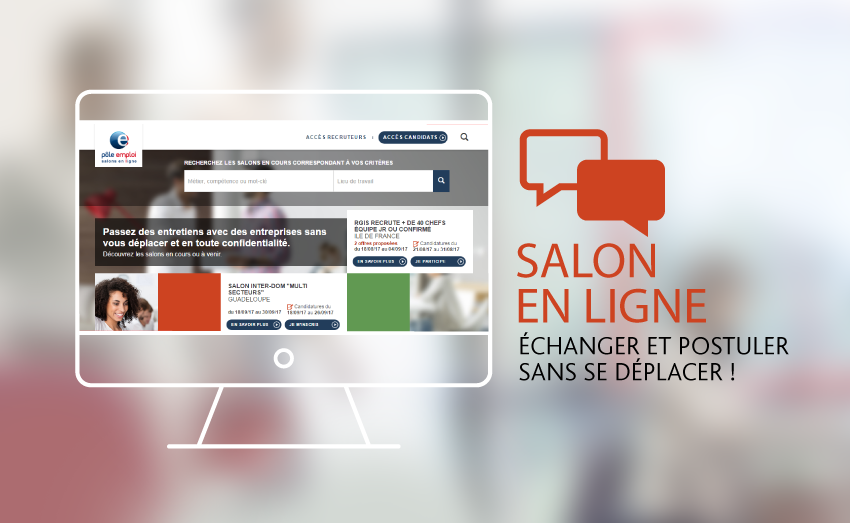 Image d'illustration d'un Salon en ligne